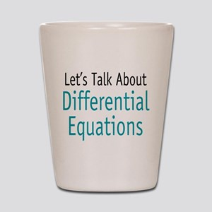 Differential Equation Shot Glass