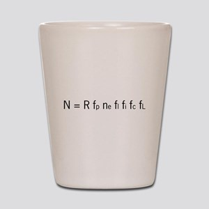 Drake Equation Shot Glass