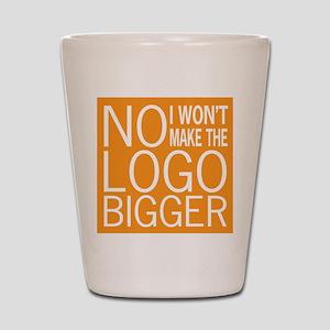 No Big Logos Shot Glass