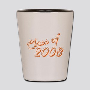 Faded Class of 08 Shot Glass