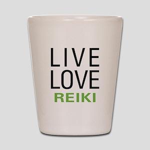 Live Love Reiki Shot Glass
