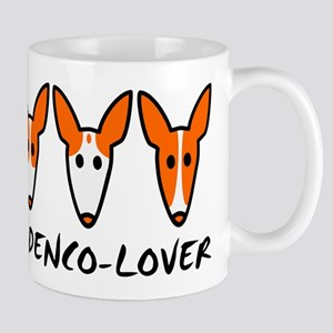 Three Ibizan Hounds Large Mugs