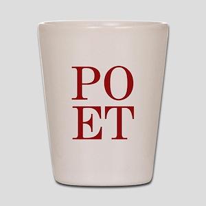 POET Shot Glass