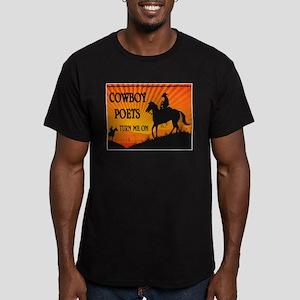 GIDDYUP Men's Fitted T-Shirt (dark)