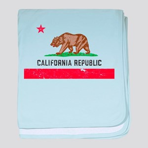 Vintage California baby blanket