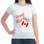 Good Day, Eh! Jr. Ringer T-Shirt