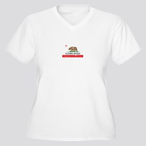 Vintage California Women's Plus Size V-Neck T-Shir