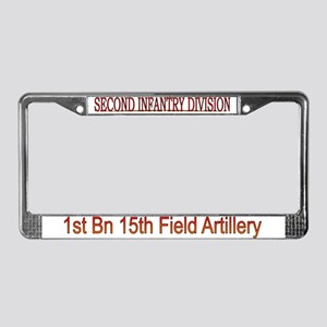 4th Squadron 7th Cavalry License Plate Frame