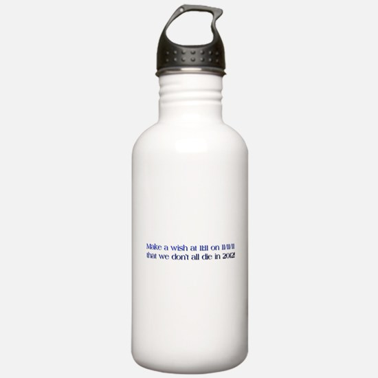 Unique Make a wish Water Bottle