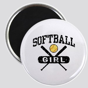 Softball Girl Magnet