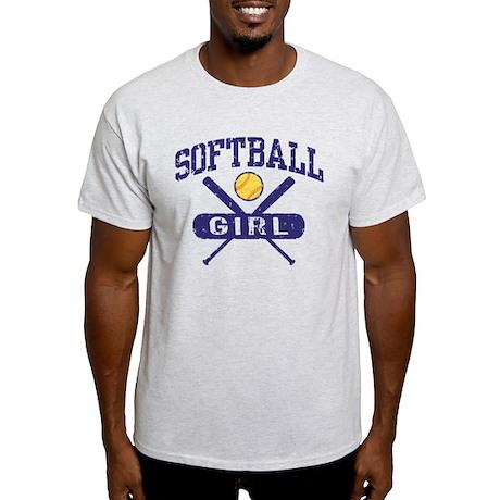 Softball Girl Light T-Shirt