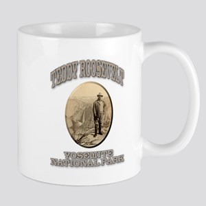 Roosevelt At Yosemite Mug