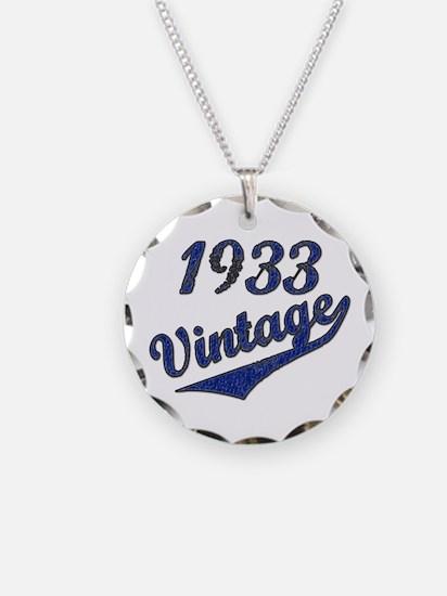 Unique 1933 Necklace