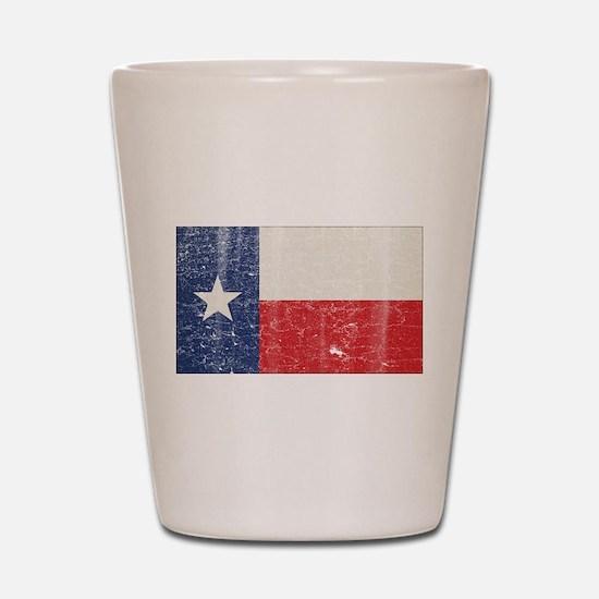 Vintage Texas Shot Glass