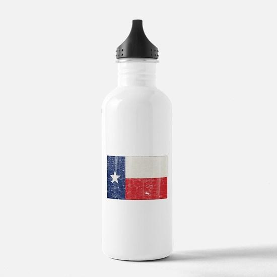 Vintage Texas Water Bottle