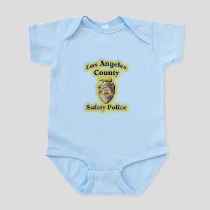 L A County Safety Police Infant Bodysuit