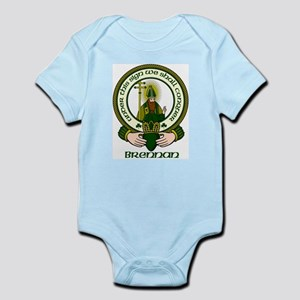 Brennan Clan Motto Infant Bodysuit