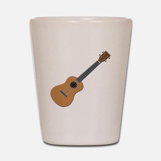 ukulele Shot Glass