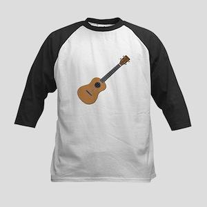 ukulele Kids Baseball Jersey