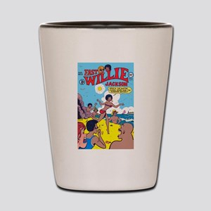 FastWillie Jackson #6 Shot Glass