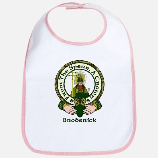 Broderick Clan Motto Bib