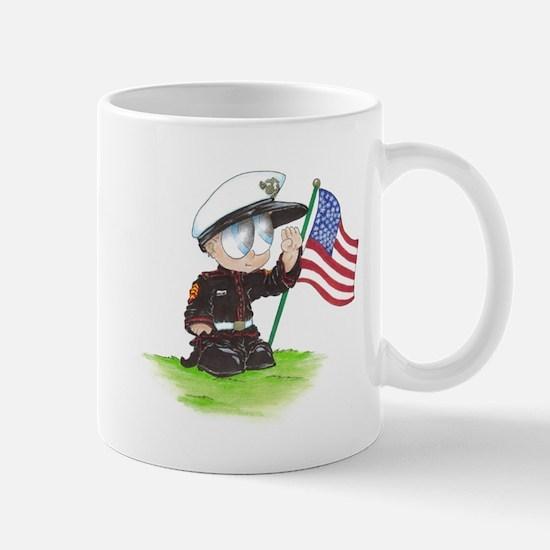 Oscar the Marine Mug