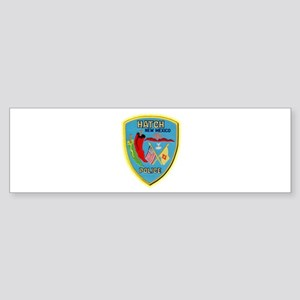 Hatch New Mexico Police Sticker (Bumper)