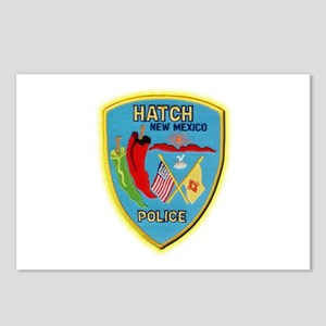 Hatch New Mexico Police Postcards (Package of 8)