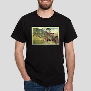 Cool Japanese Mountain Torii Gate Japan T-Shirt