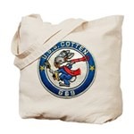 USS COTTEN Tote Bag