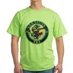 USS COTTEN Green T-Shirt