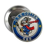 "USS COTTEN 2.25"" Button"