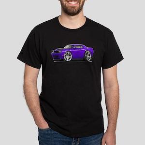 Hurst Challenger Purple Car Dark T-Shirt
