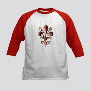 Colorful Antique New Orleans Kids Baseball Jersey