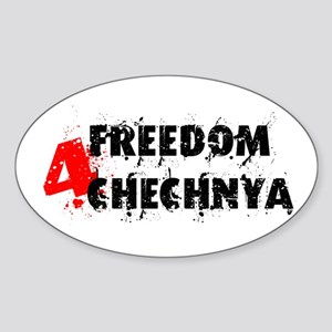 Freedom 4 Chechnya Sticker (Oval)