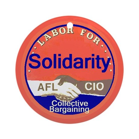 Solidarity Ornament (Round)