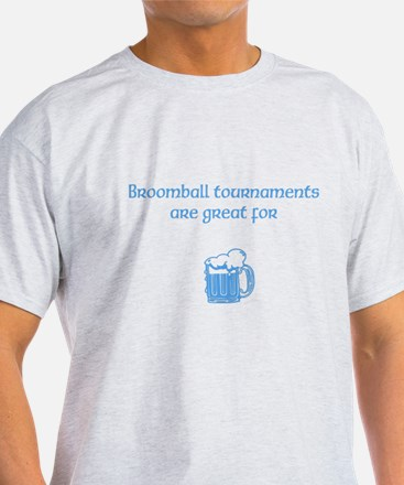 broomball beer T-Shirt