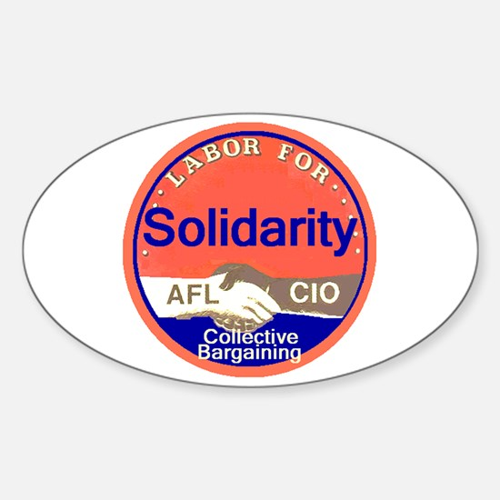 Solidarity Sticker (Oval)