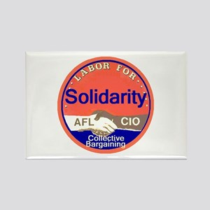 Solidarity Rectangle Magnet