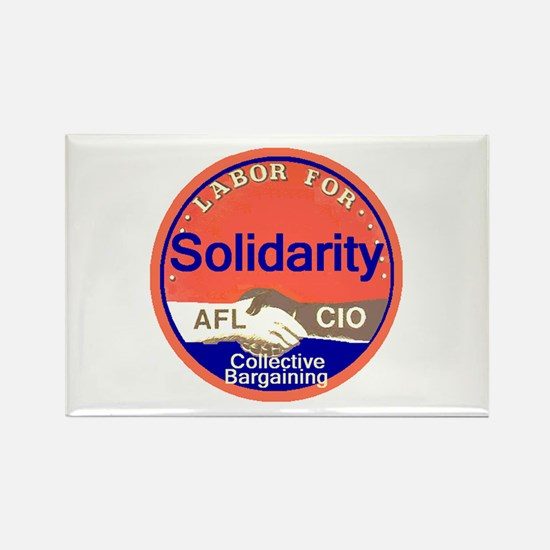 Solidarity Rectangle Magnet