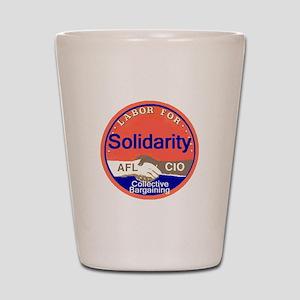 Solidarity Shot Glass