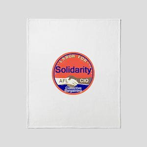 Solidarity Throw Blanket