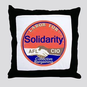 Solidarity Throw Pillow