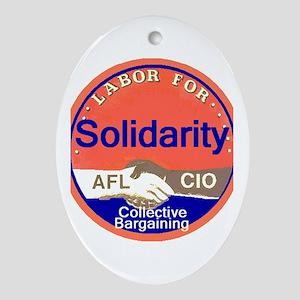 Solidarity Ornament (Oval)