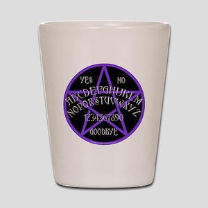 Purple Pentagram Board Shot Glass
