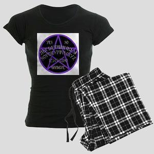 Purple Pentagram Board Women's Dark Pajamas