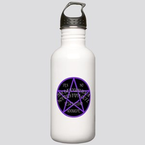 Purple Pentagram Board Stainless Water Bottle 1.0L