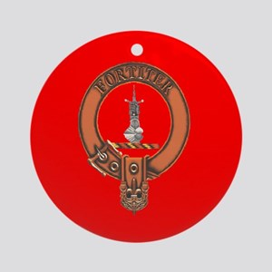 Clan MacAlister Ornament (Round)