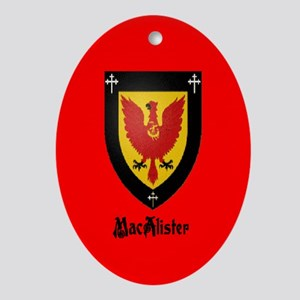 Clan MacAlister Ornament (Oval)