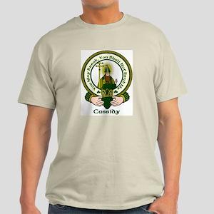 Cassidy Clan Motto Light T-Shirt